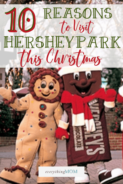 10 Reasons to Visit Hersheypark Christmas Candylane