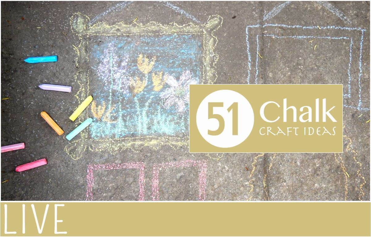 51 Chalk Craft Ideas Everythingmom