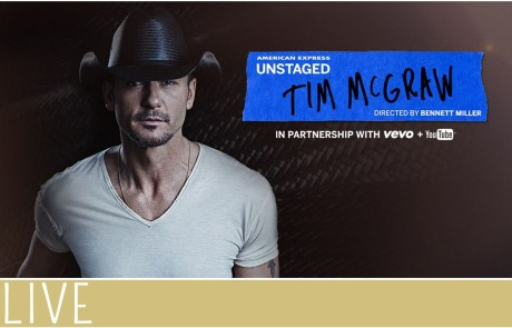 Amex Unstaged Tim McGraw