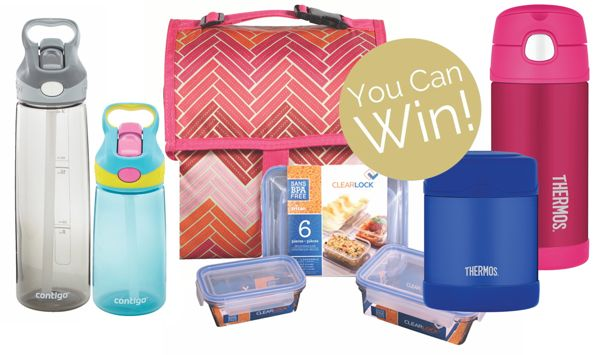 Canadian Tire School Lunch Giveaway prize