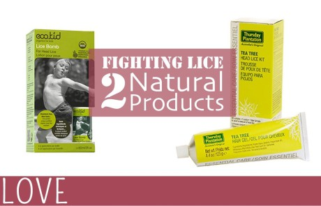 Two Natural Products to Combat Lice