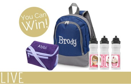 You Name It Baby Personalized School Gear Givaway
