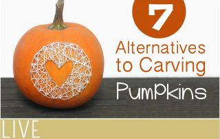 Alternative Pumpkin Carving Ideas