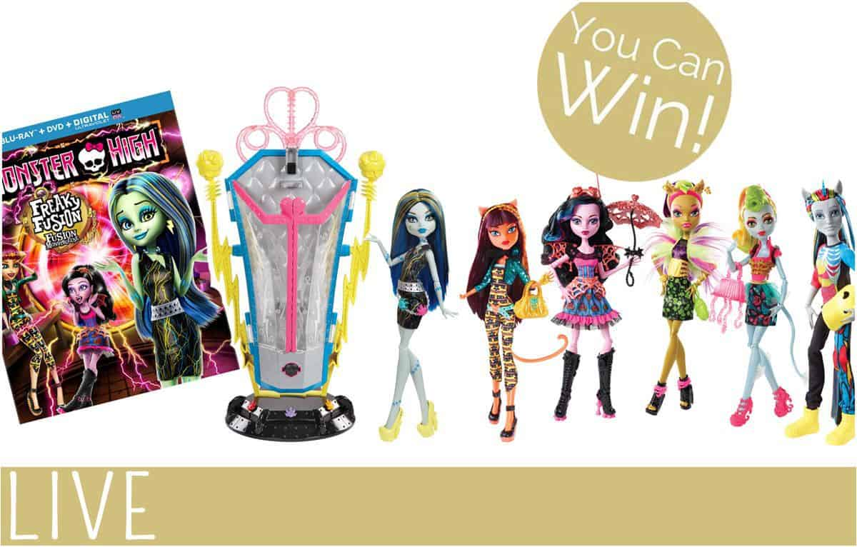 Monster High Freaky Fusion Giveaway