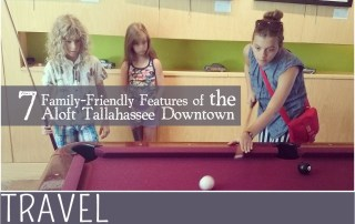 Family Travel Tallahassee Aloft Hotel