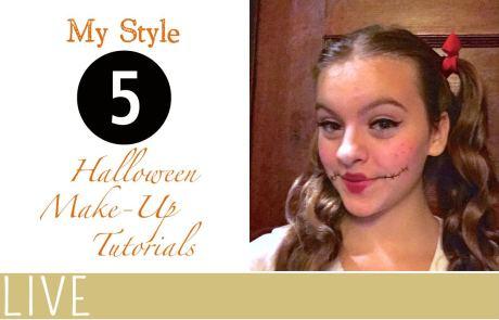 My Style Halloween MakeUp Tutorials