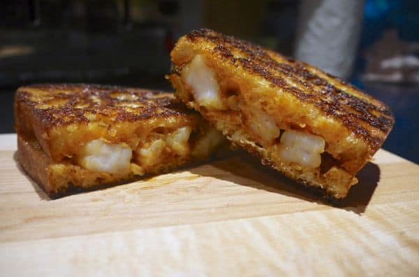 Pataks Indian Shrimp Grilled Cheese Dinner