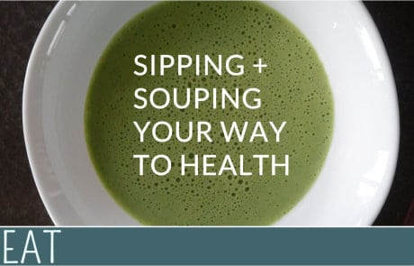 SIPPING SOUPING HEALTH