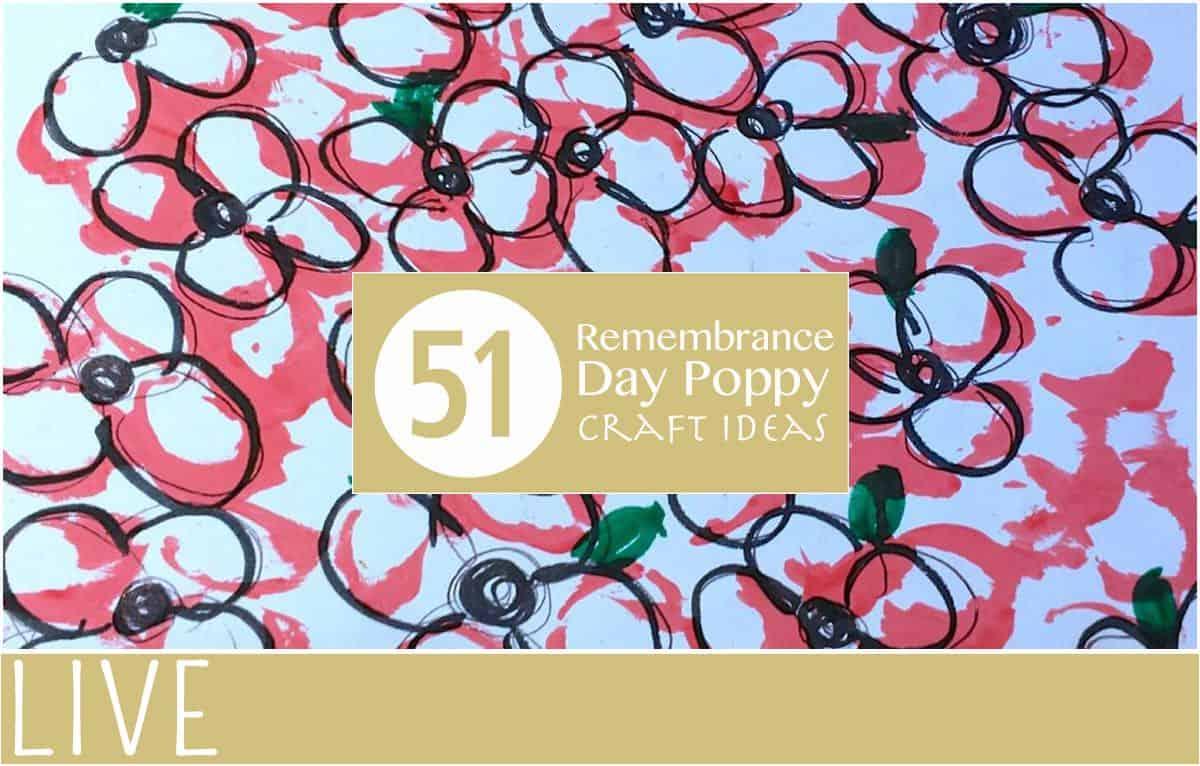 51 Remembrance Day Poppy Craft Ideas Everythingmom