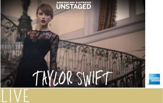 AmexUNSTAGED Taylor Swift Exerpience