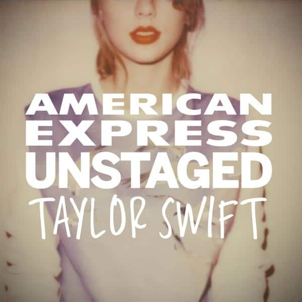 AmexUNSTAGED Taylor Swift Exerpience App