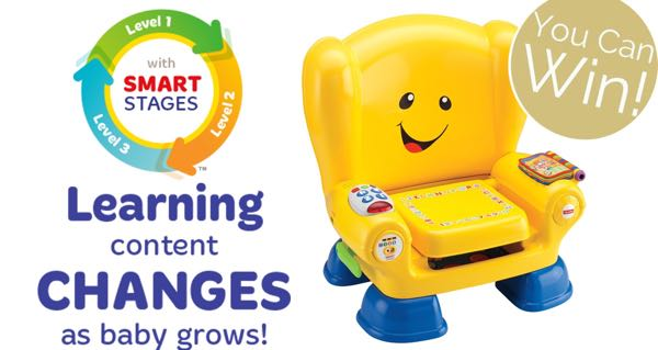 Fisher Price Laugh Learn Smart Stages Giveaway chair