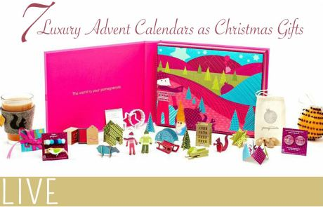 Luxury Advent Calendars as Christmas Gifts