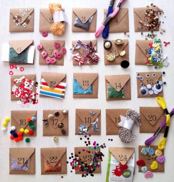 Christmas Countdown Gift Ideas Part - 15: Luxury Advent Calendars As Christmas Gifts Crafter