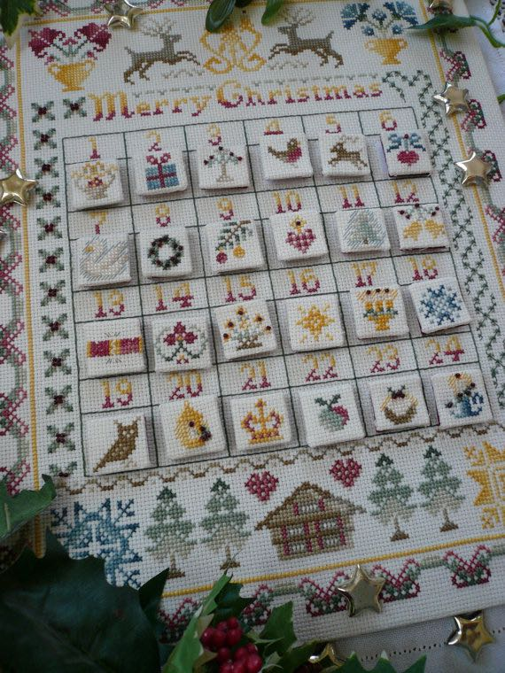 Luxury Advent Calendars as Christmas Gifts Cross Stitch