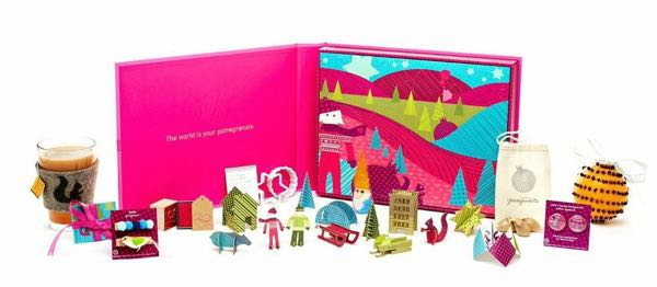 Luxury Advent Calendars as Christmas Gifts Pomegranate