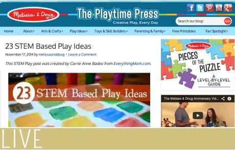 Melissa and Doug STEM Projects Nov Post