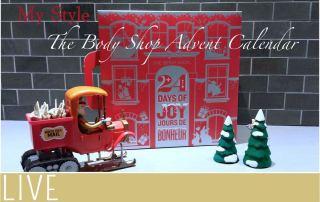 My Style Body Shop Advent Calendar Box