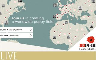 Remembrance Day Flanders Field Poppy App