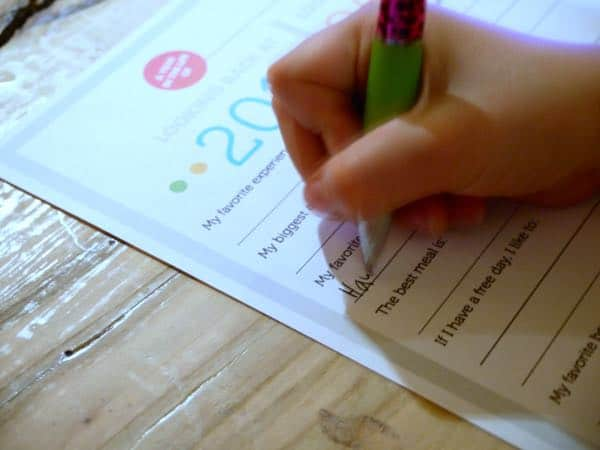 51 Year in Review Craft Ideas Forms