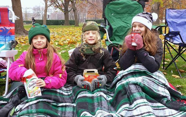 American Express AMEXLife Santa Parade
