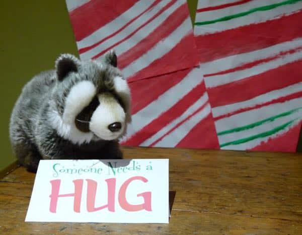 Command Elf Movie Party Raccoon Hug Game