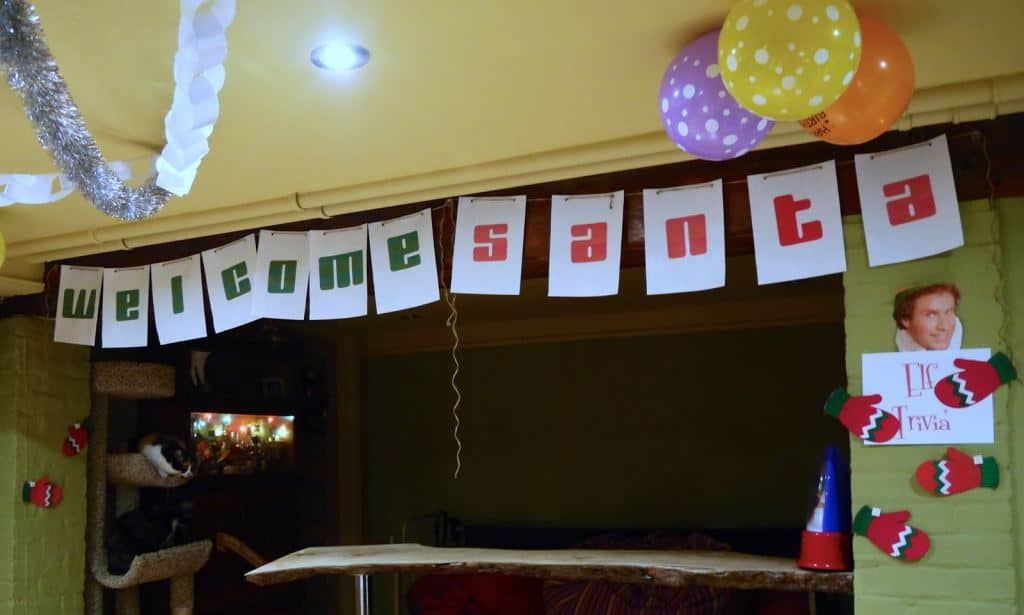 Command Elf Movie Party Santa Banner45