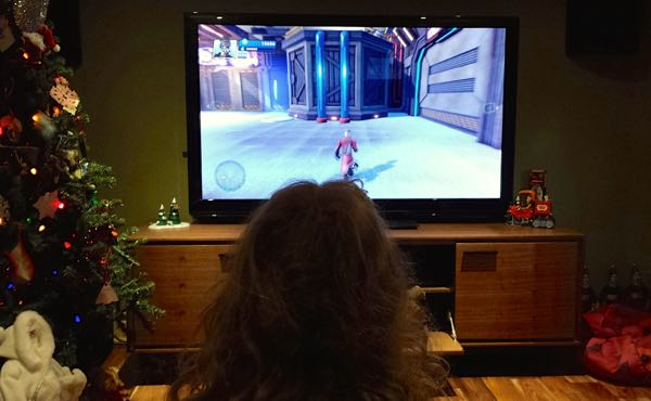 Family New Year's Fun with Disney Infinity Galaxy