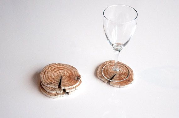 Hostess Gifts They Love Driftwood Coasters
