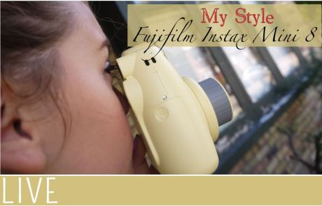 My Style Fujifilm Instax Mini8 Instant Camera Review