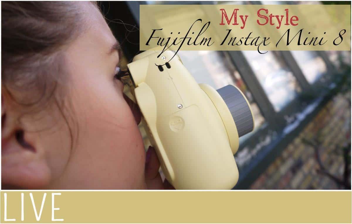 My Style Fujifilm Instax Mini8 Instant Camera Review