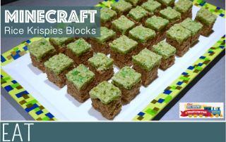 Rice Krispies Treats Toys Minecraft Blocks