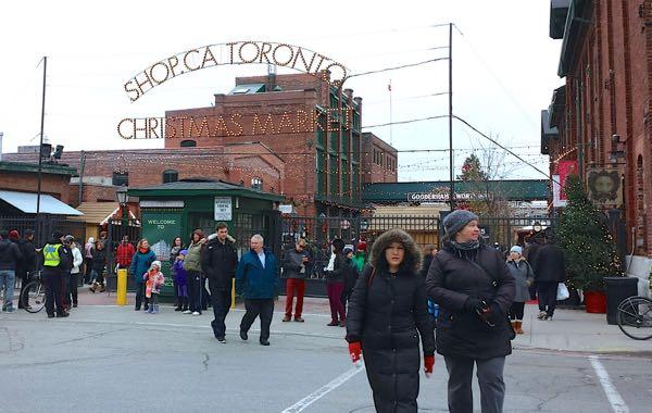Toronto Christmas Market Food Donuts