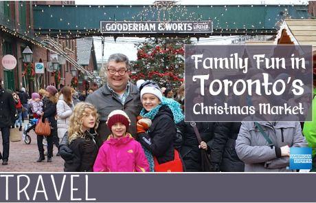 Toronto Christmas Market with AMEX