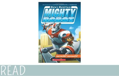 Kids Book Review Ricky Ricotta Might Robot