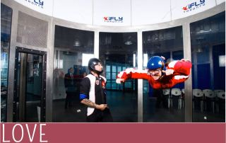 New Year Revolution ifly skydiving