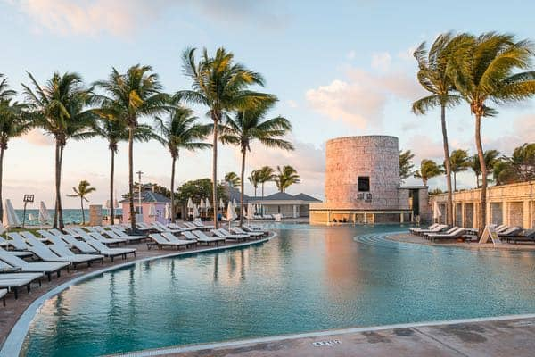 Sunwing Vacations Marvel Super Hero Memories Grand Bahama Pool
