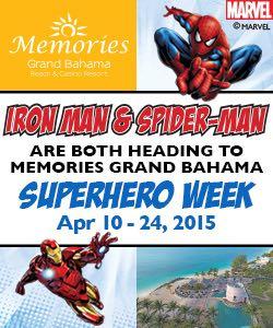 Sunwing Vacations Marvel Super Hero Week