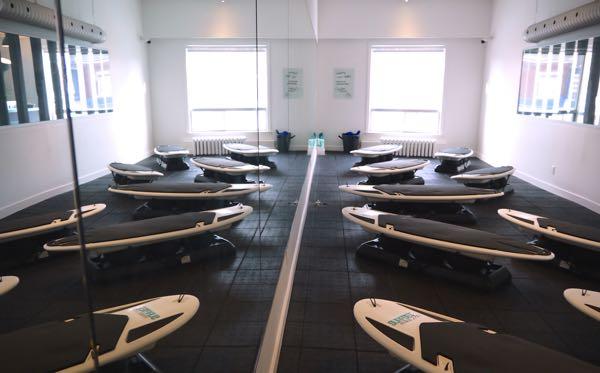 Surfset Toronto Fitness Studio Long Shot