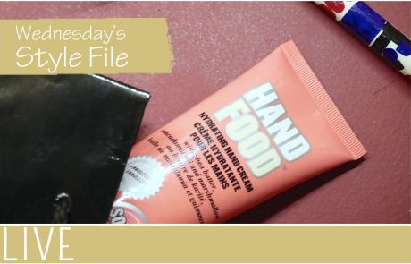 Wednesday Style File Soap Glory Hand Food Review