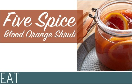 Recipe 5 Spice Blood Orange Scrub