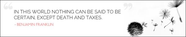 TAXATION QUOTE