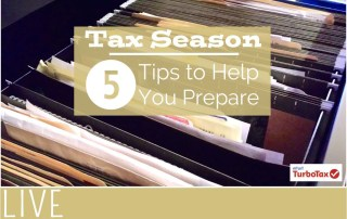 Turbo Tax Tips on Preparing Organizing for Taxes