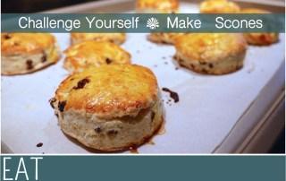 Challenge Yourself Bake British Scones