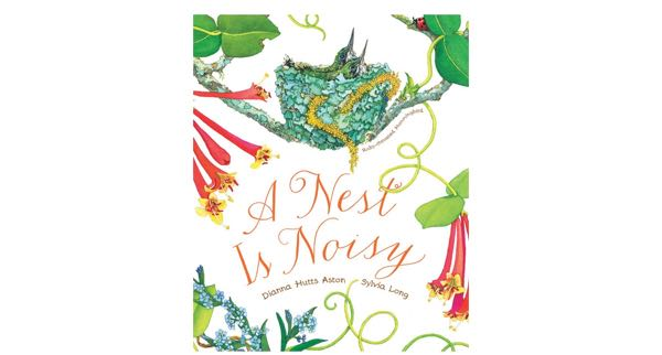 Kids Book Review Nest is Noisy