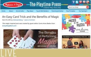 Melissa Doug March Magic Trick Post