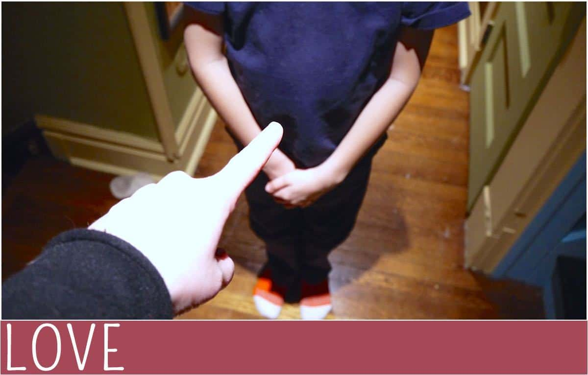 fear pointing child parenting
