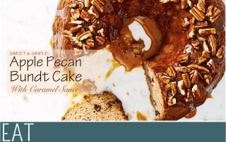 Sweet Simple Cookbook Apple Peacan Bundt Cake Recipe