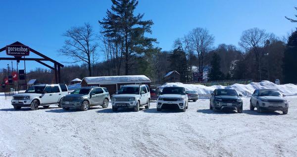 Winter Hibernot Land Rover Family