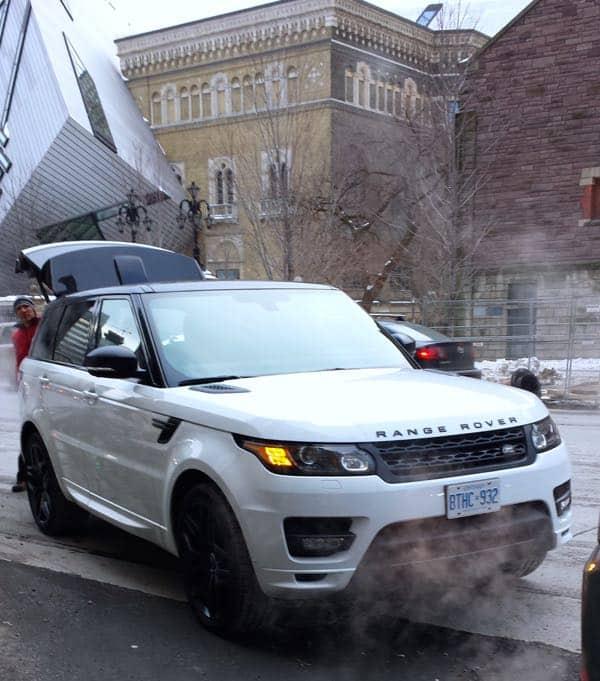 Winter Hibernot Range Rover Sport